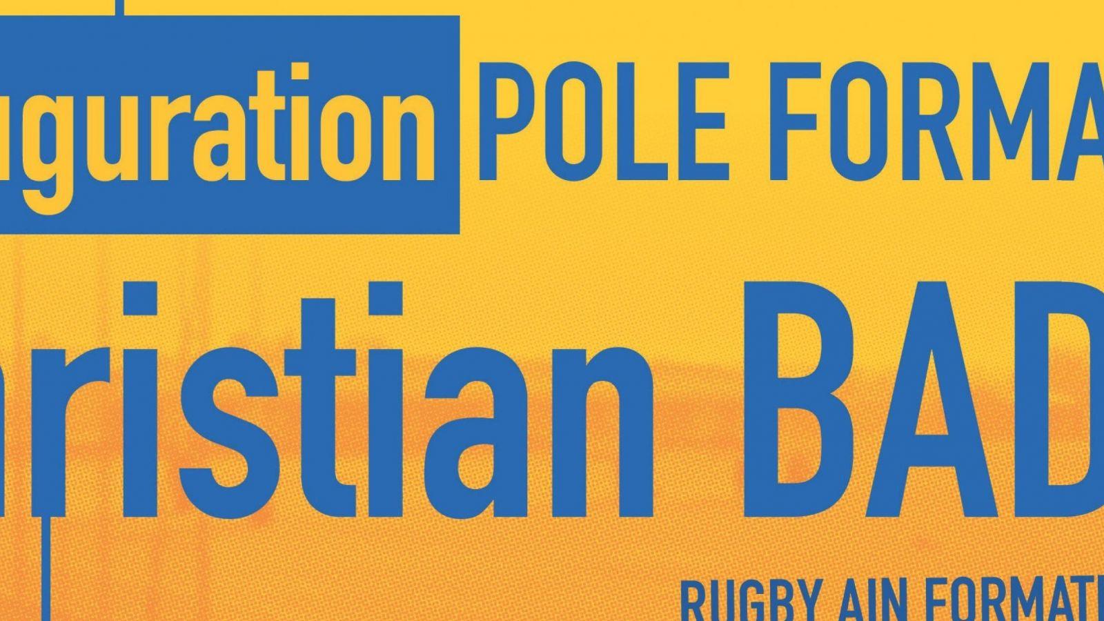 Inauguration Pôle Formation Christian BADIN, samedi 31 août 2019