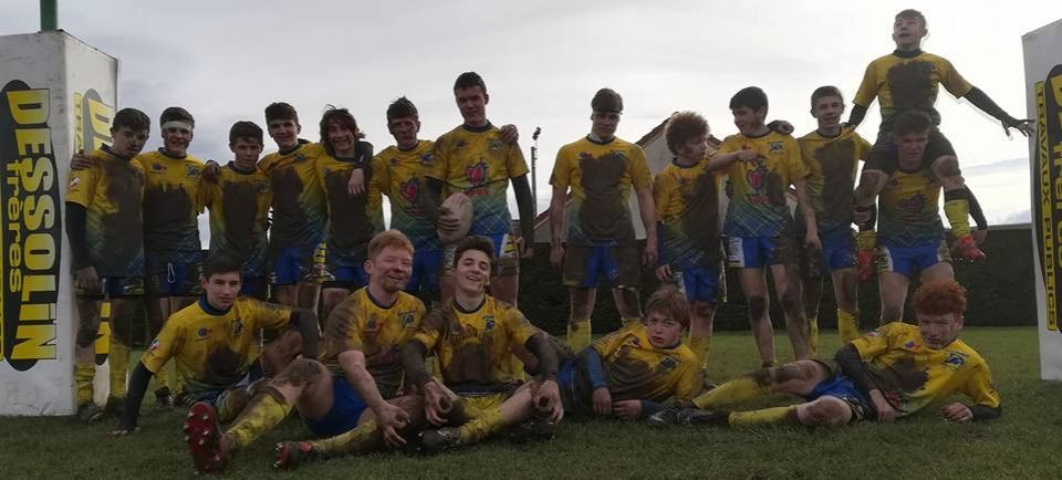 Victoire bonifiée des U16 à Buxy / Cluny