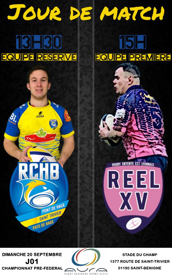 Bassin RCHB B vs REEL XV B