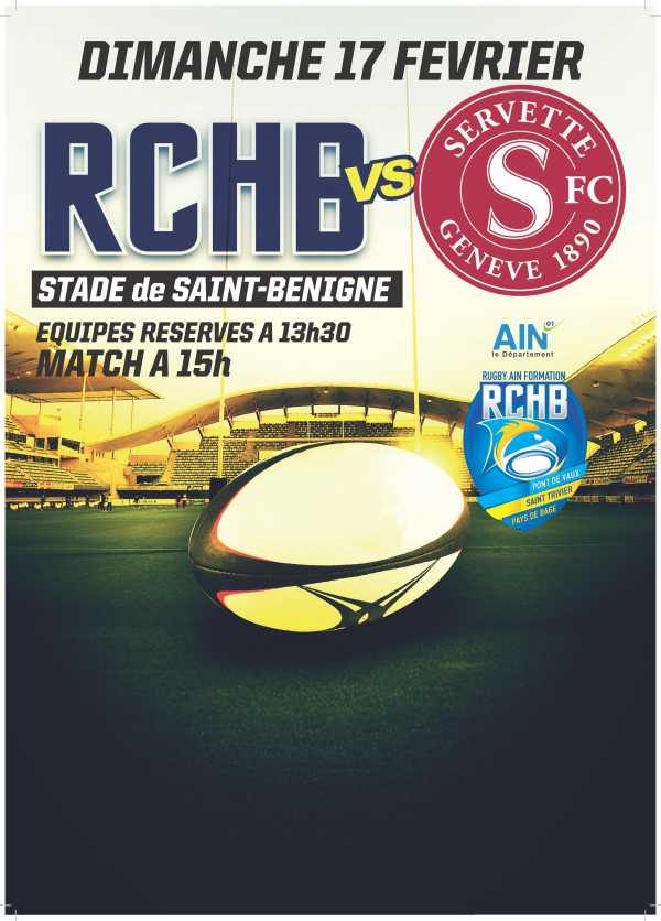 Bassin RCHB B vs Servette RC de Genève B