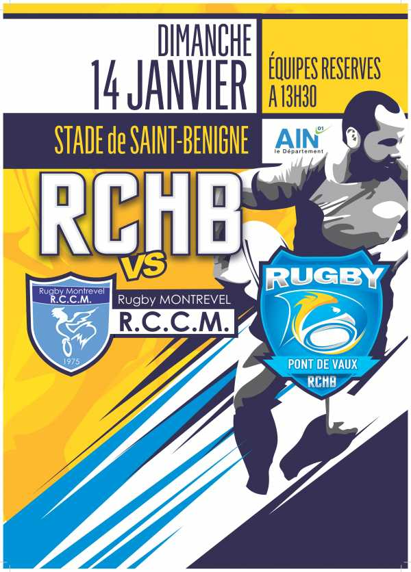 Bassin RCHB B vs RC Montrevel B