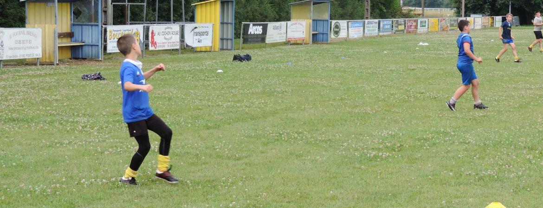 Reprise des entraînements pour les jeunes du club