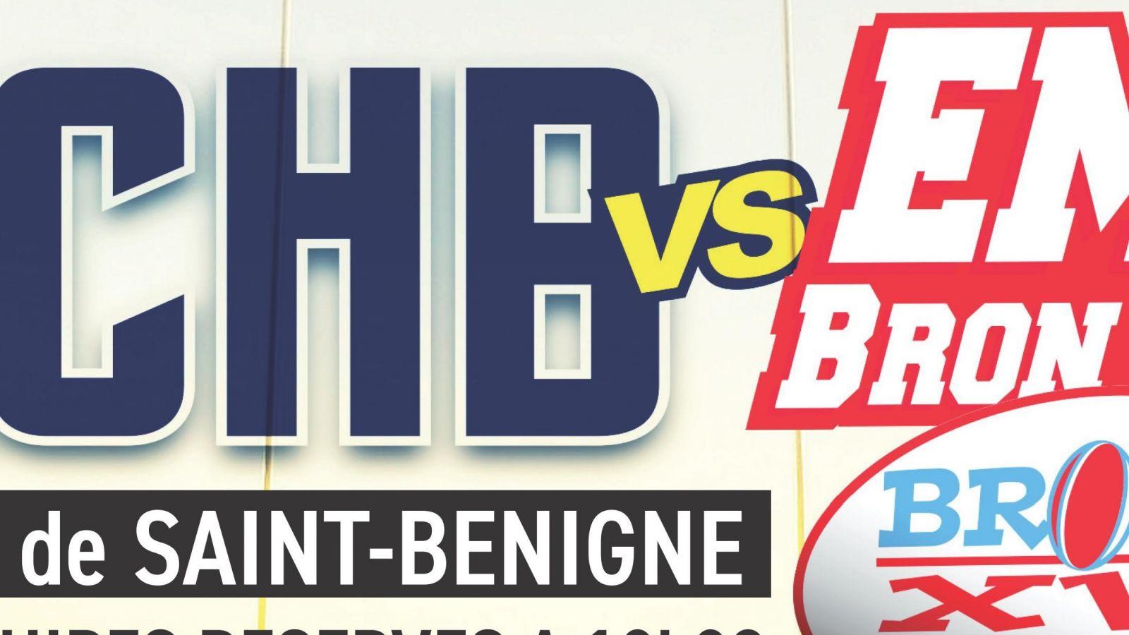 Dimanche 17 novembre 2019, Bassin RCHB vs EMS Bron