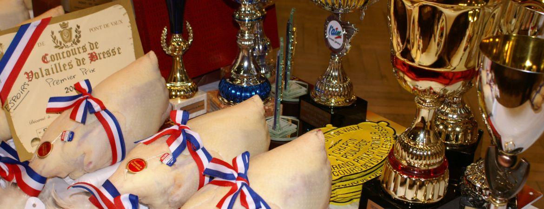 Concours de Volailles de Bresse à Pont-de-Vaux