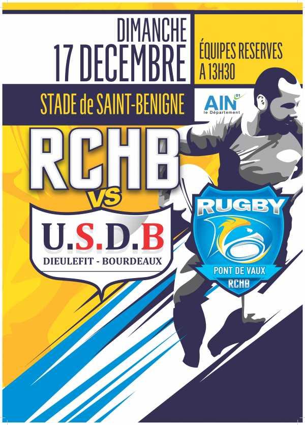 Bassin RCHB B vs US Dieulefit-Bourdeaux B