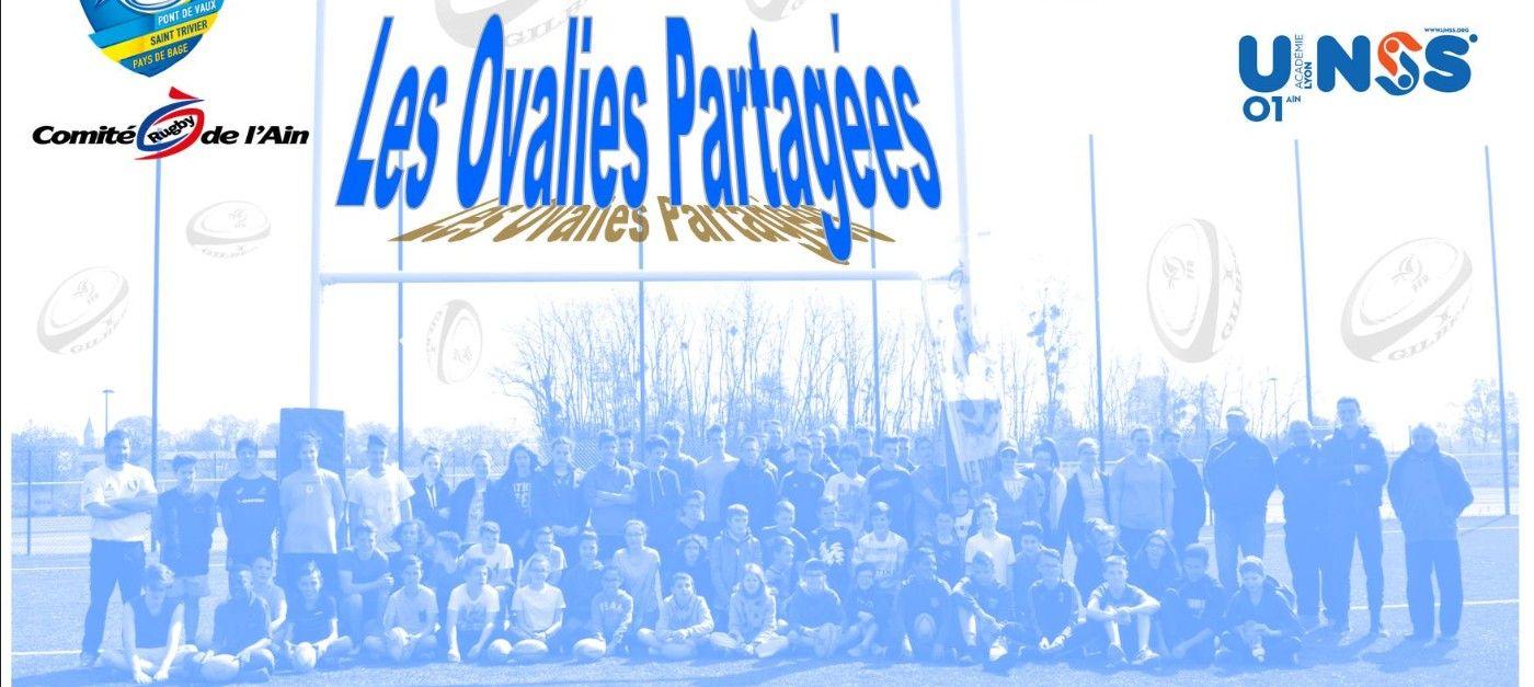 Les ovalies partagées : le 03 mai à partir de 14h au complexe sportif
