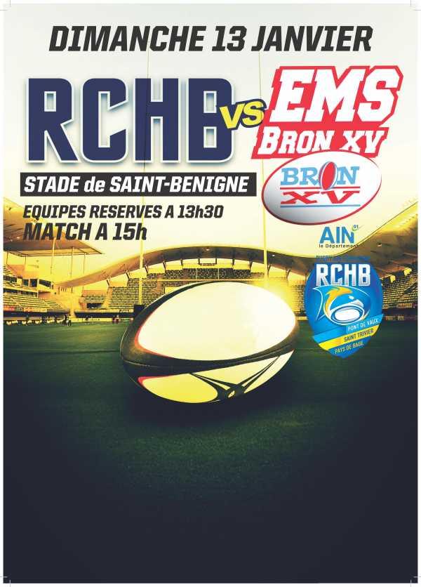 Bassin RCHB vs EMS Bron