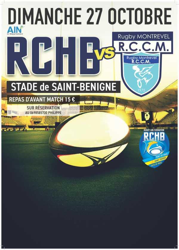 Bassin RCHB B vs RCC Montrevel B