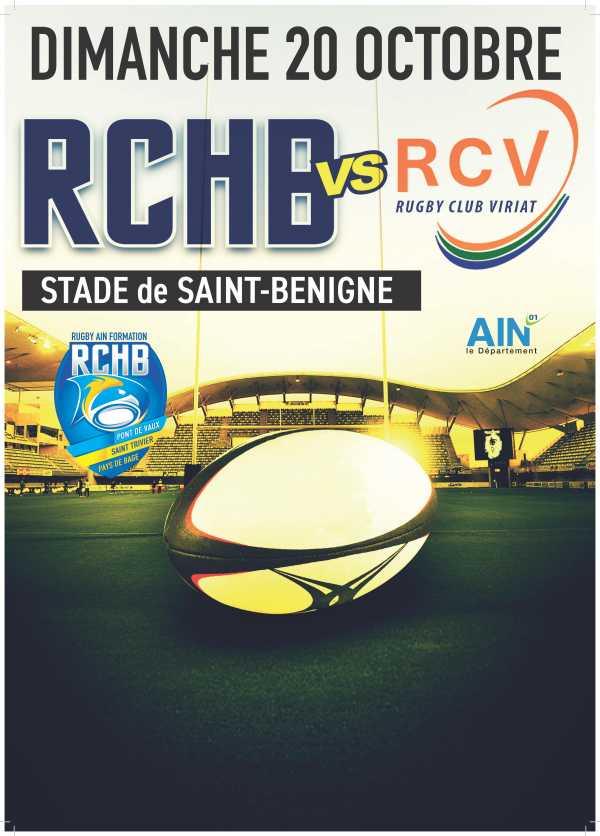 Bassin RCHB B vs RC Viriat B