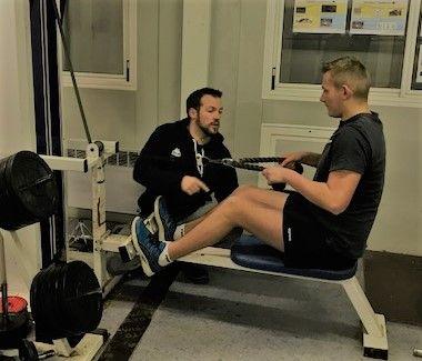 Les U16 et U18 en renforcement musculaire