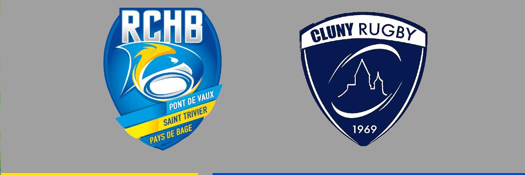Match Amical - Bassin RCHB vs US CLuny - 17/09/2021