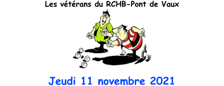 """Concours de pétanque - """"Les Coqs en Pattes"""" - 11/11/2021"""