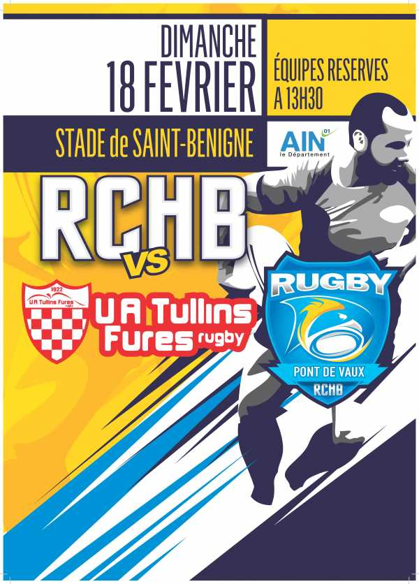 Bassin RCHB vs UA Tullins Fures