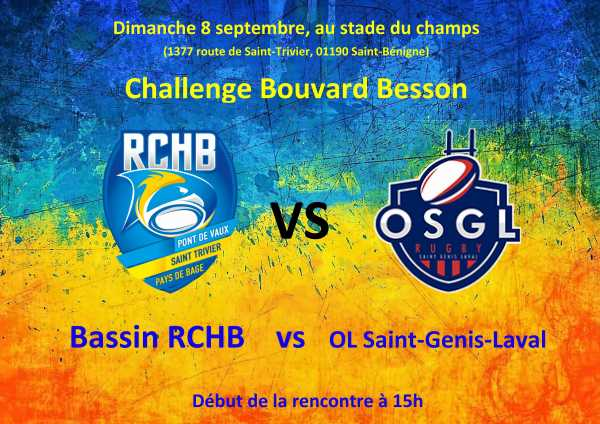 Challenge Bouvard Besson