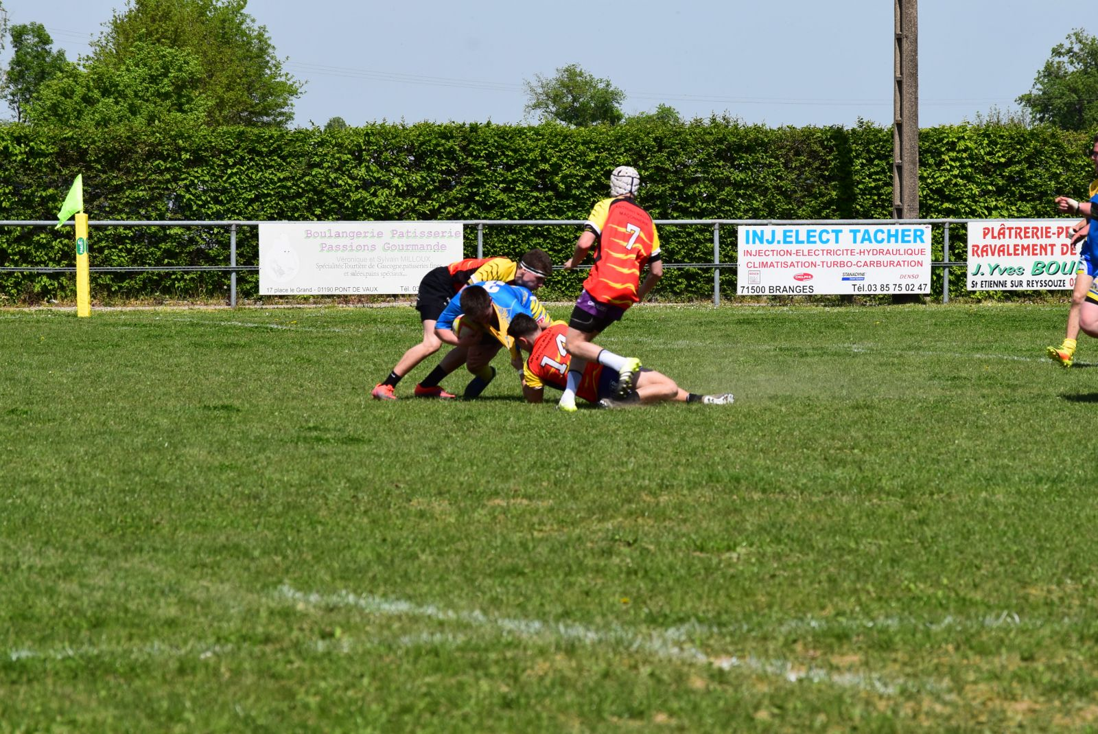Entente Bresse Veyle Seille Vs Bourg Rugby Bassin Rchb